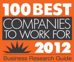 2012 best companies to work for