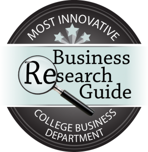 Business Research Guide - Most Innovative College Business Department