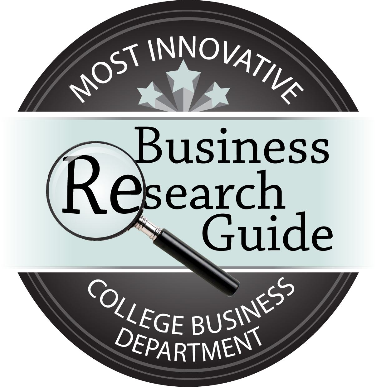 most innovative small college business departments  click here for high resolution badge