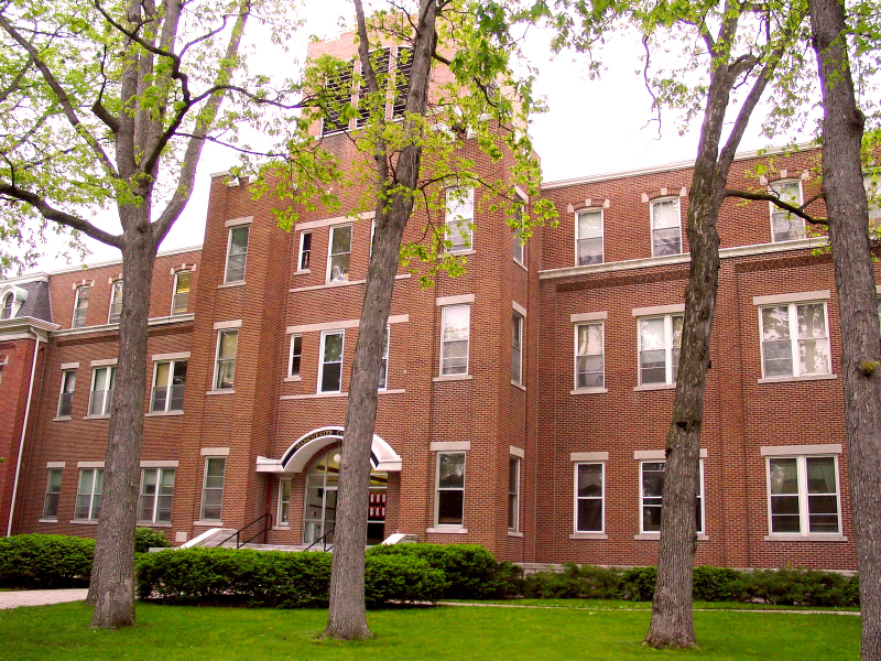 Administration Building (front facade), Manchester College